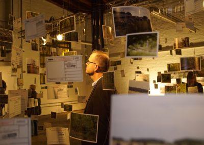 Hambacher Forst   Andreas Magdanz und Studierende der HAWK und RWTH   Foto: Gunnar Stender