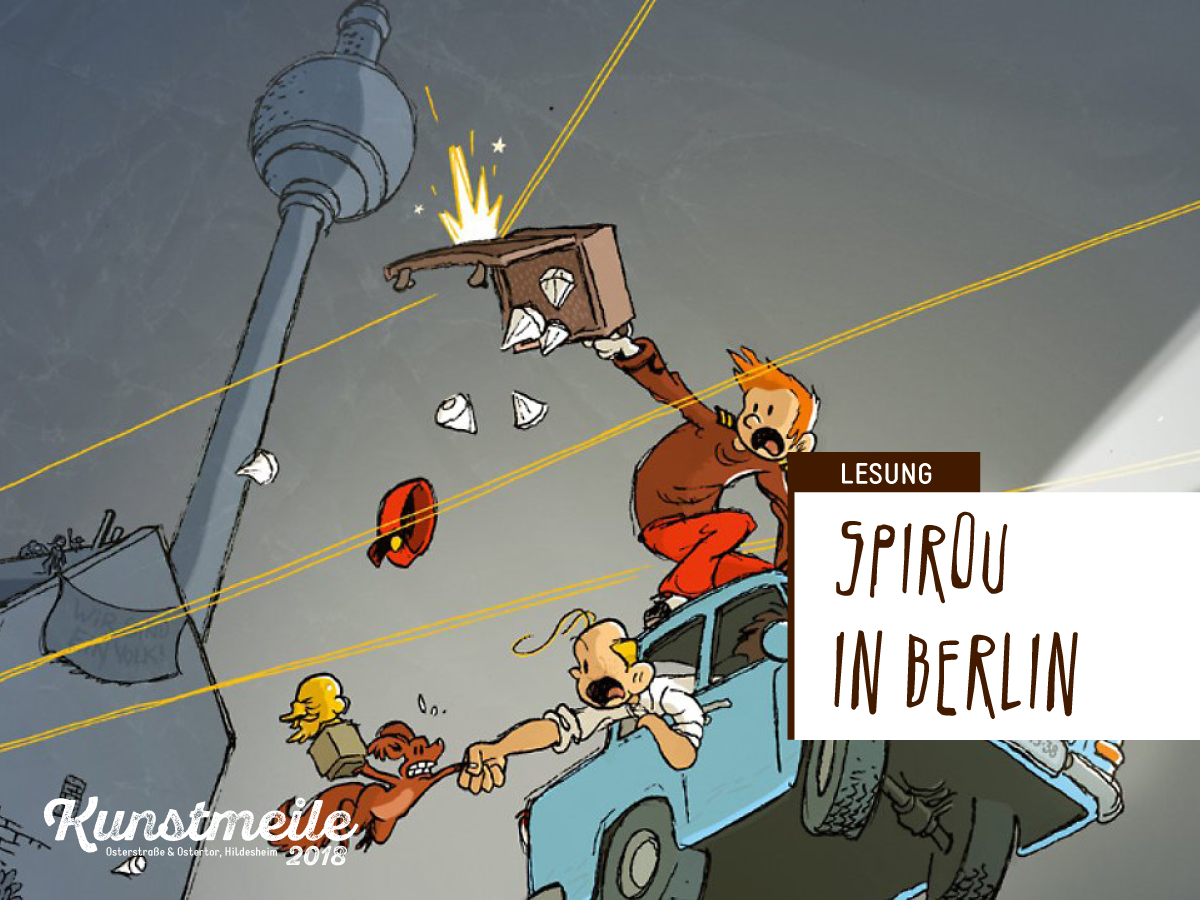 Spirou in Berlin   Lesung mit Flix
