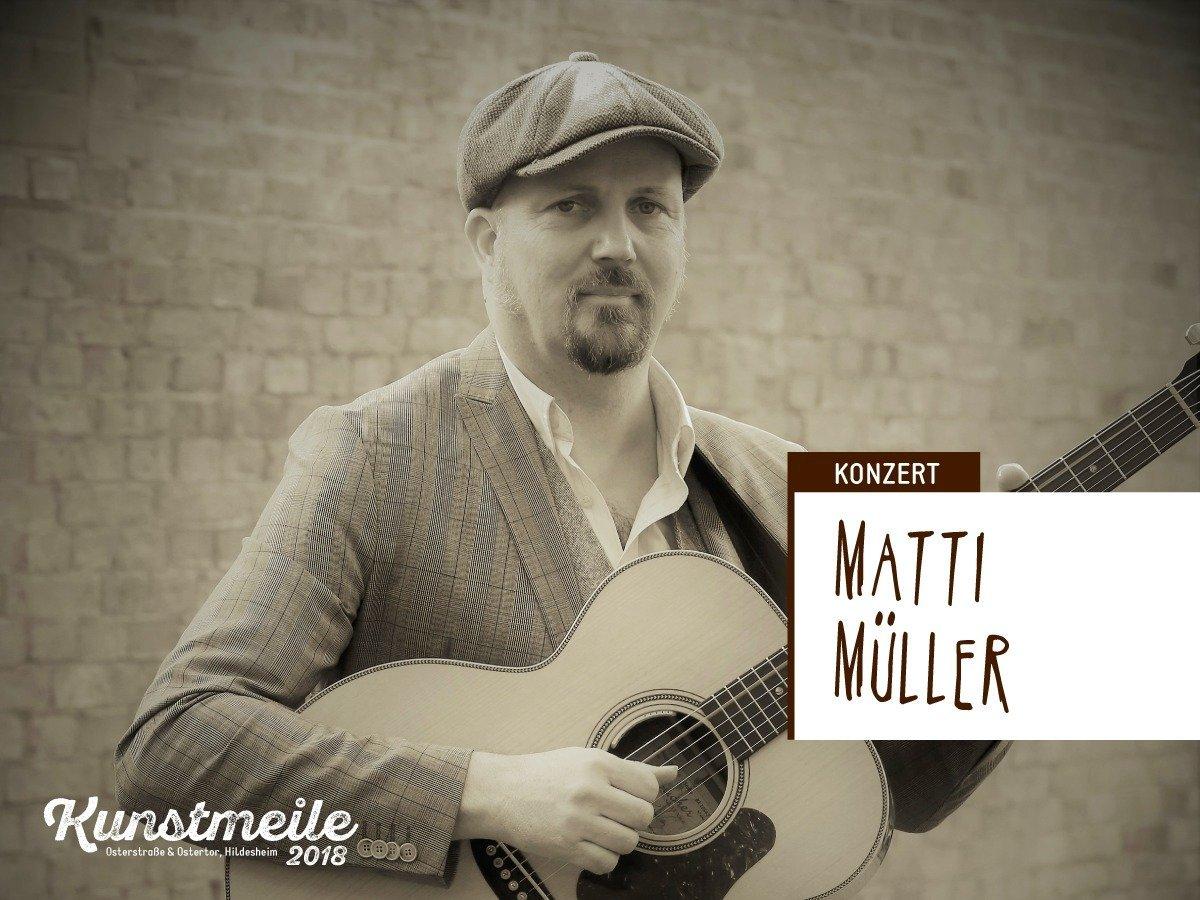 Livemusik von Matti Müller