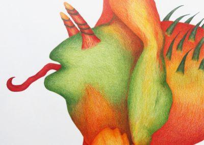 Inge Marion Petersen: Terra Incognita No.3 | 2018 | 30 x 30 cm