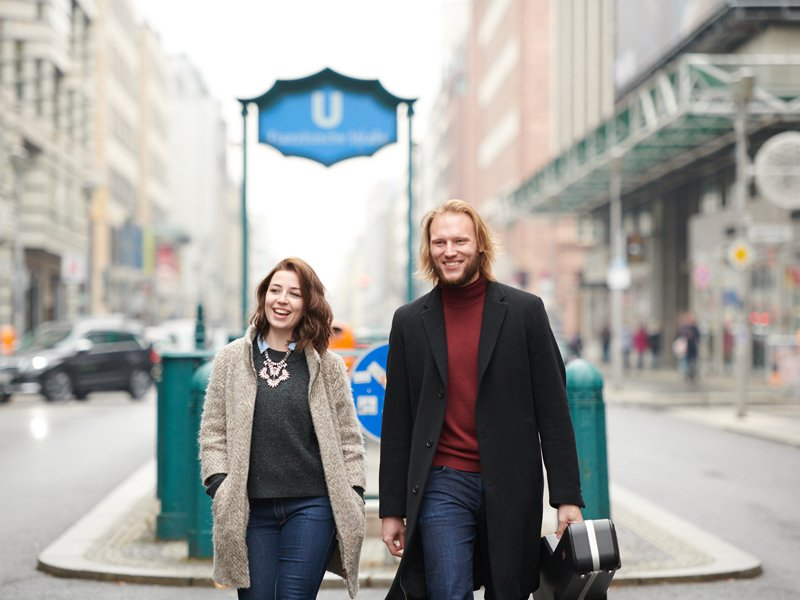 Konzert in der Halle: Tanja & Timo