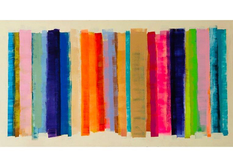 Johanna Hess, Colorado II, 2011, 120 x 220 cm, Acryl auf Nessel