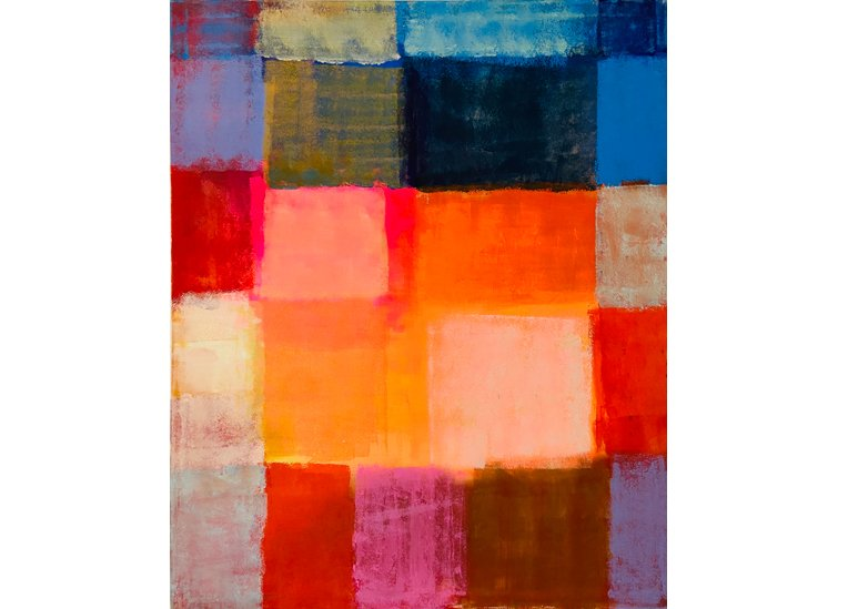 Johanna Hess, My private Idaho, 2002, 140 x 115 cm, Acryl auf Nessel