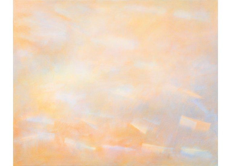 Sabine Fernkorn, Traces (II), 2017, 130 x 160 cm, Acryl/BW